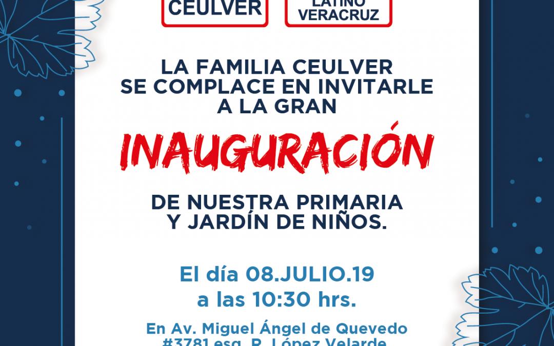 ¡Inauguración! Primaria y Jardín de niños